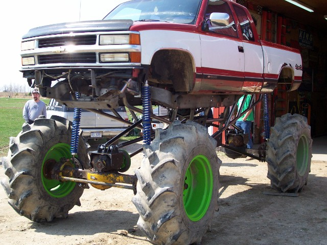 2 5 Ton Rockwell Axles Mud Truck For Sale Autos Post