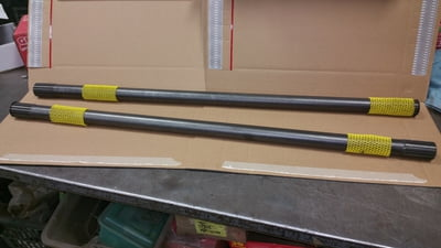 2.5 Ton Rockwell CHROME MOLY Rear Axle Shafts (set of 2)
