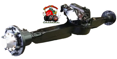 2.5 Ton Rockwell Rear Straight Axle - Deluxe
