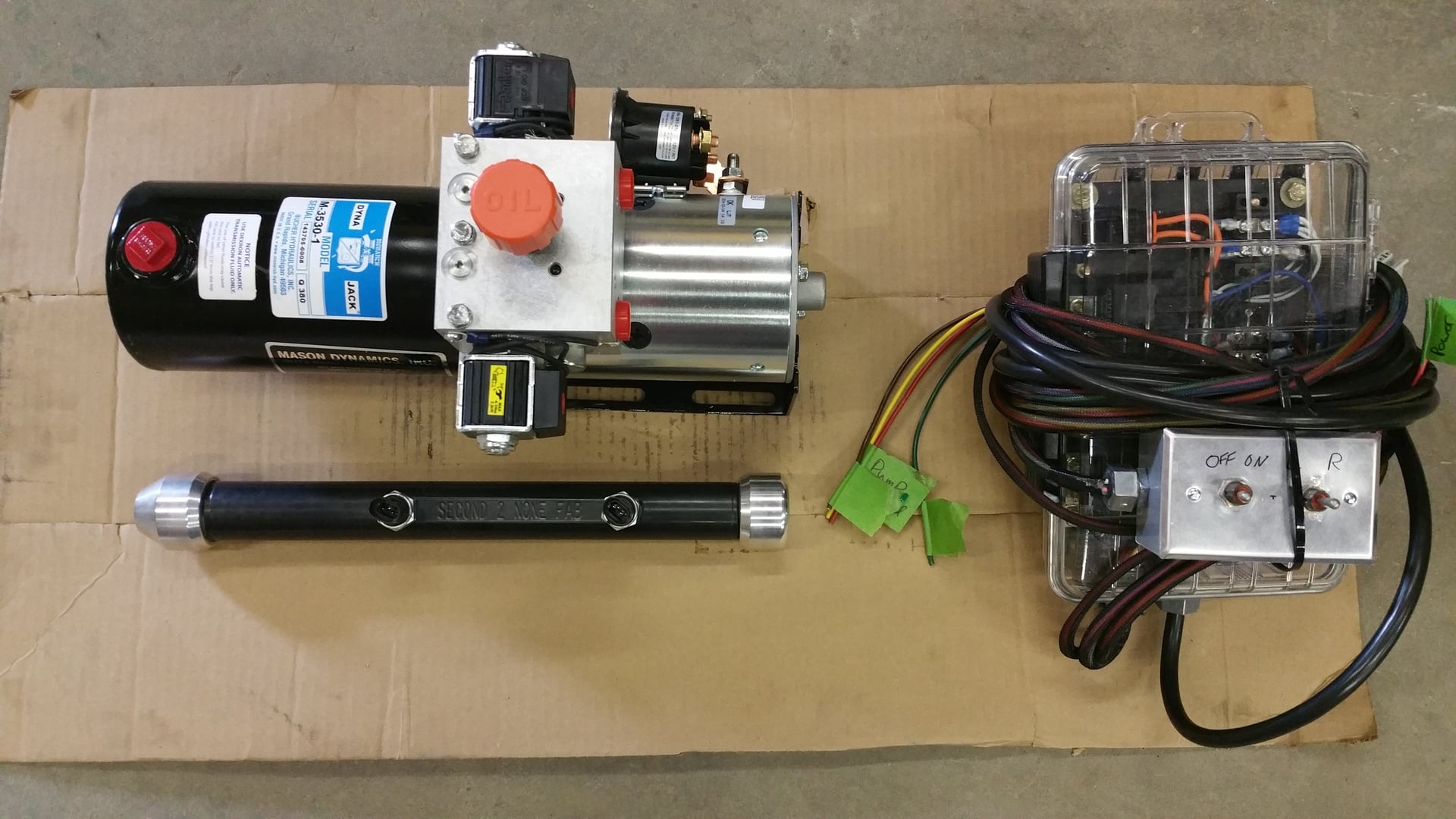 Self Centering Electric Over Hydraulic Rear Steer Kit